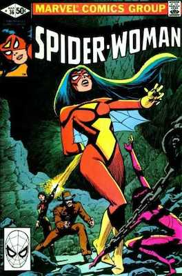 Spider-Woman #36. Click for values.