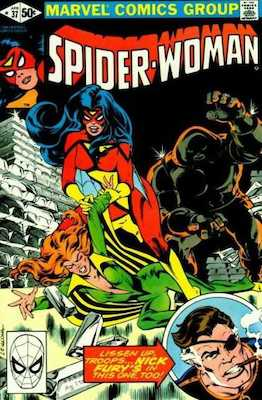 Spider-Woman #37. Click for values.