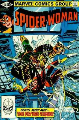Spider-Woman #40. Click for values.