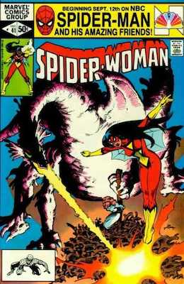 Spider-Woman #41. Click for values.