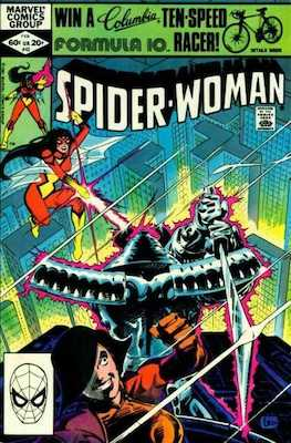 Spider-Woman #42. Click for values.