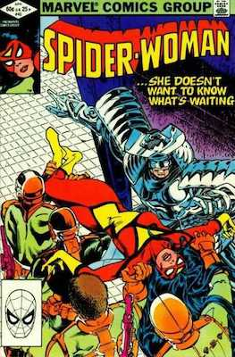 Spider-Woman #43. Click for values.