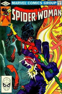 Spider-Woman #44. Click for values.