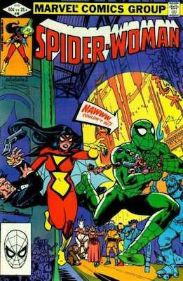 Spider-Woman #45. Click for values.