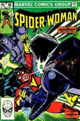 Spider-Woman #46. Click for values.