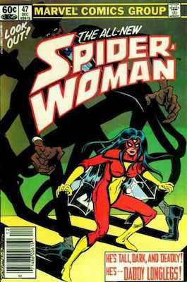 Spider-Woman #47. Click for values.