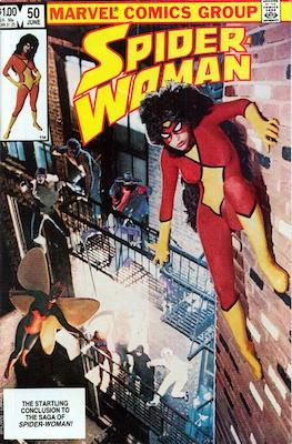 Spider-Woman #50. Click for values.