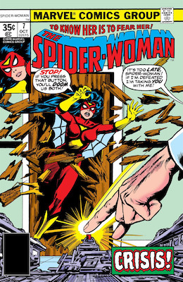 Spider-Woman #7. Click for values.