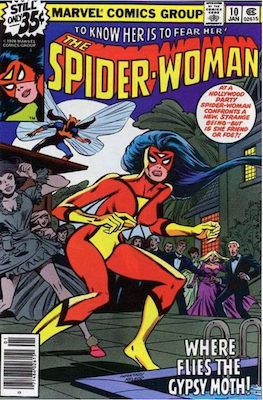 Spider-Woman #10. Click for values.