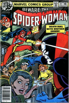 Spider-Woman #11. Click for values.