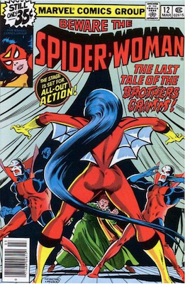 Spider-Woman #12. Click for values.