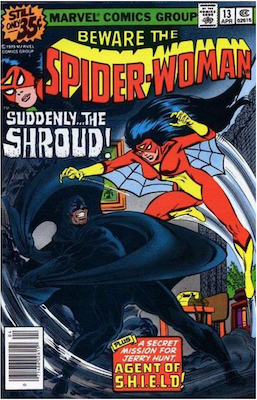 Spider-Woman #13. Click for values.