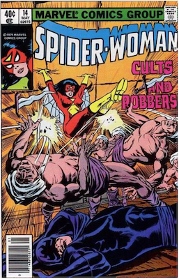 Spider-Woman #14. Click for values.