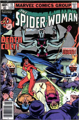 Spider-Woman #15. Click for values.