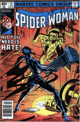 Spider-Woman #16. Click for values.