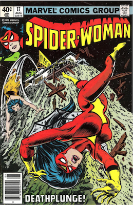 Spider-Woman #17. Click for values.