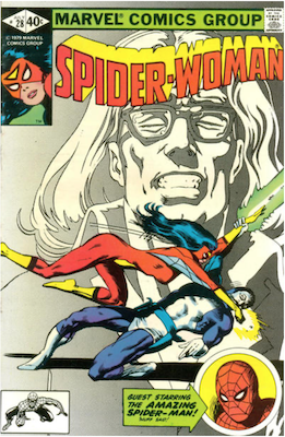 Spider-Woman #28. Click for values.