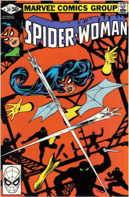 Spider-Woman #39. Click for values.