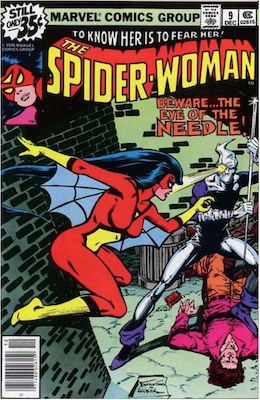 Spider-Woman #9. Click for values.