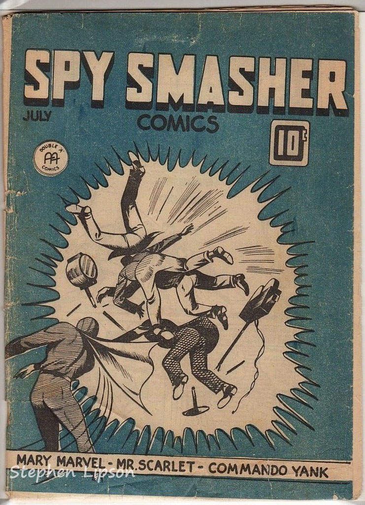 Canadian Whites: Spy Smasher comics v1 #12