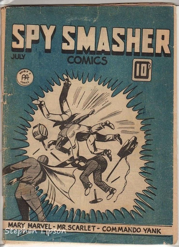 Canadian Whites: Spy Smasher comics v1 #12