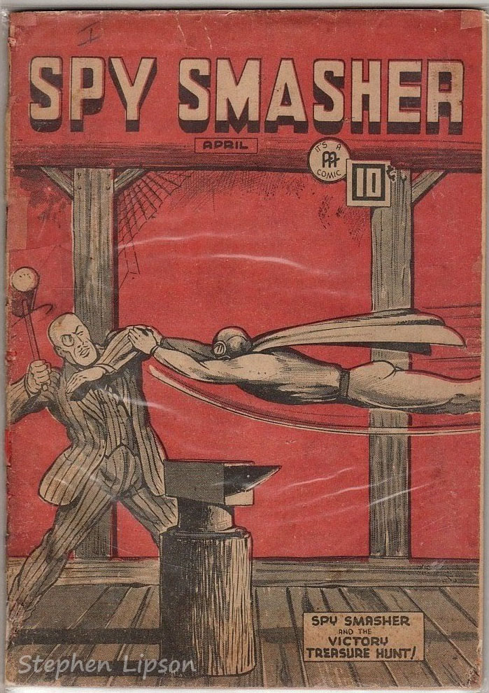 Spy Smasher comics v4 #9