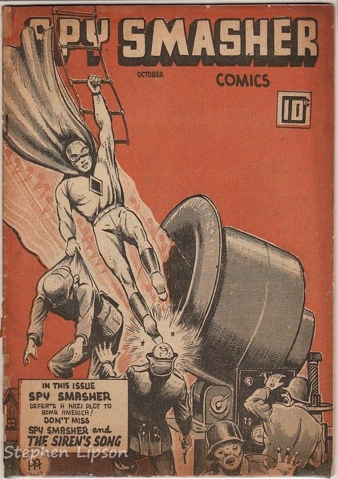 Spy Smasher comics v3 #3