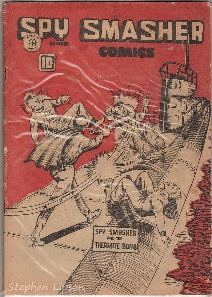 Spy Smasher comics v2 #3