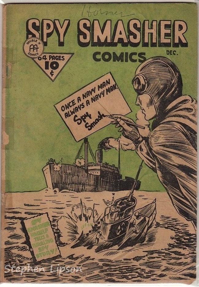 Spy Smasher comics v1 #5
