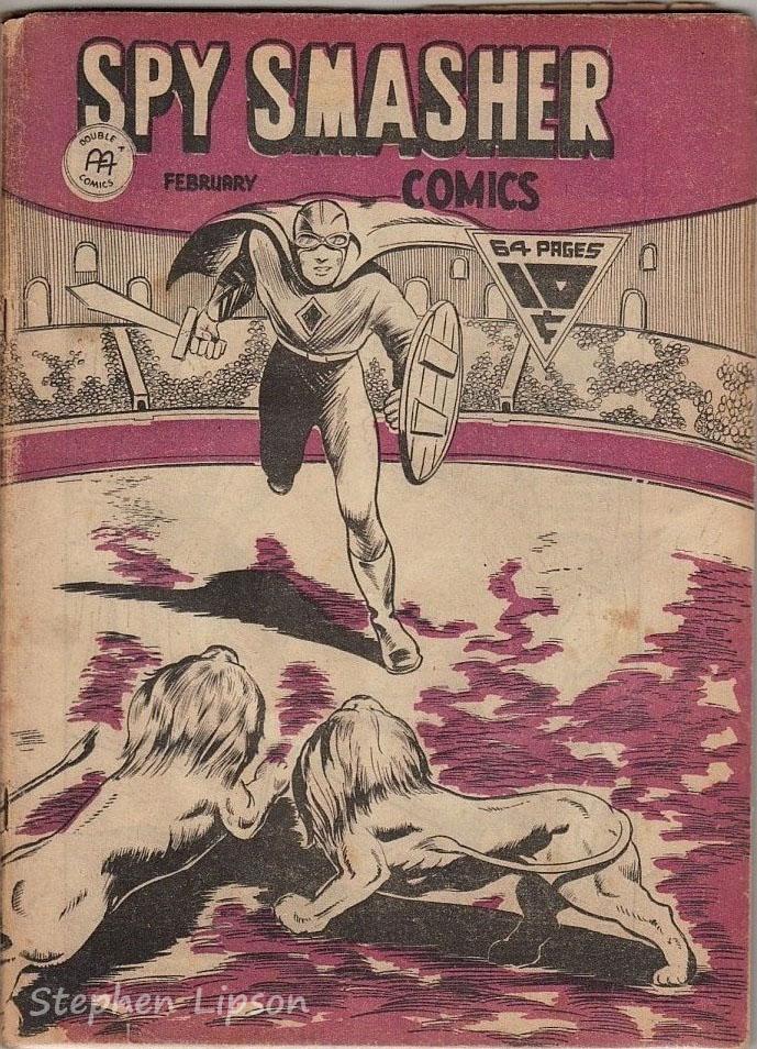 Spy Smasher comics v1 #7