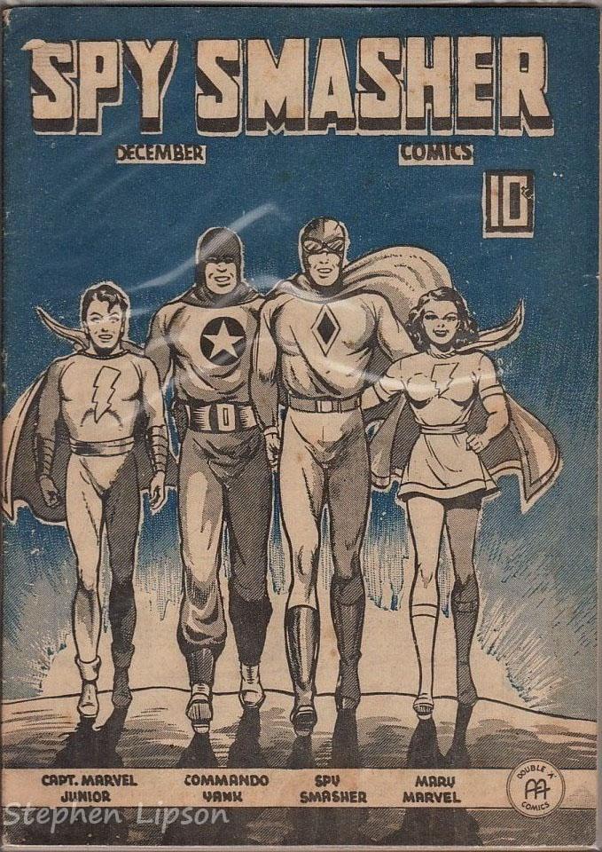 Spy Smasher comics v3 #5