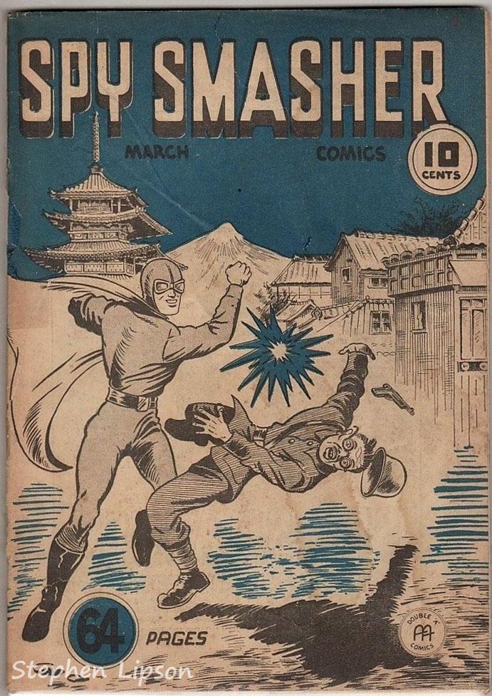 Spy Smasher comics v1 #8
