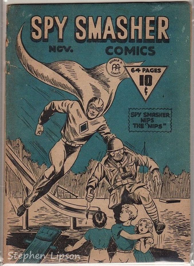 Spy Smasher comics v1 #4