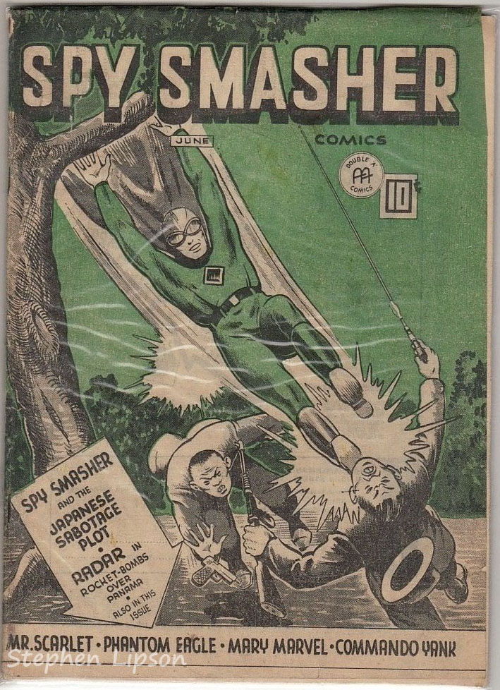 Spy Smasher comics v4 #11