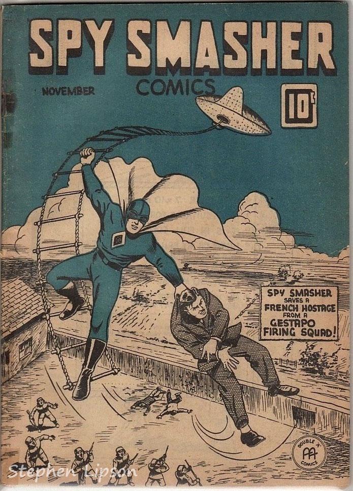 Canadian Whites: Spy Smasher comics v2 #4