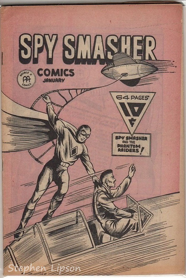 Spy Smasher comics v1 #6