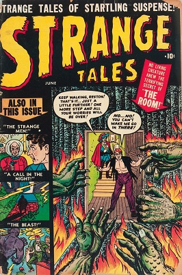 Strange Tales #1 (1951): Classic pre-hero Marvel Horror. Click for value