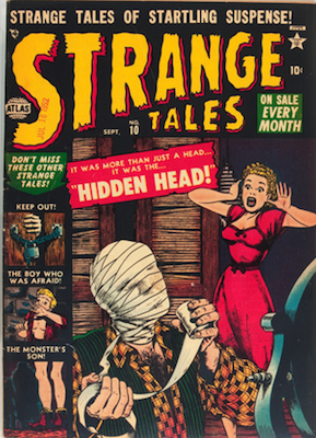 Strange Tales 10. Click for value