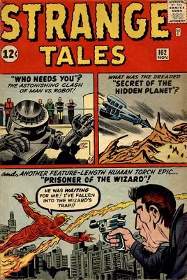 Strange Tales 102. Click for value