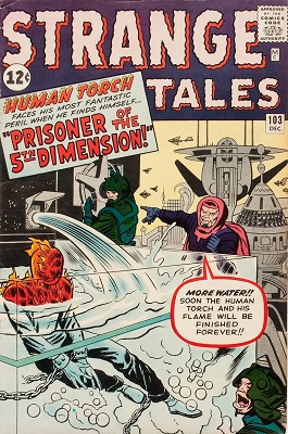 Strange Tales 103. Click for value