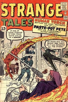Strange Tales 104. Click for value