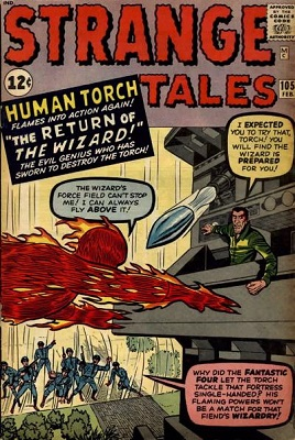 Strange Tales 105. Click for values