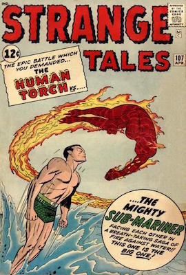 Strange Tales 107. Click for values