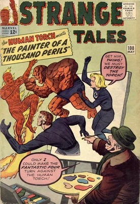 Strange Tales 108. Click for values