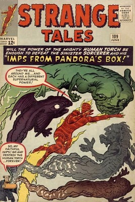 Strange Tales 109. Click for values