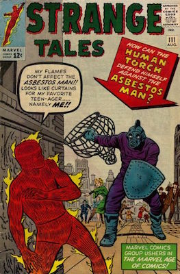 Strange Tales 111. Click for value
