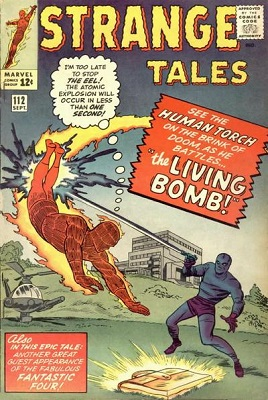 Strange Tales 112. Click for value