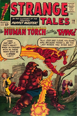 Strange Tales 116. Click for value