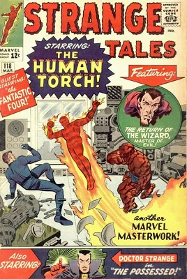 Strange Tales 118. Click for value