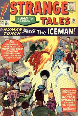 Strange Tales 120. Click for value
